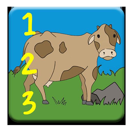 Count: Animals 教育 App LOGO-APP開箱王