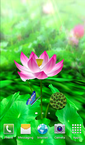 Lotus Livewallpaper