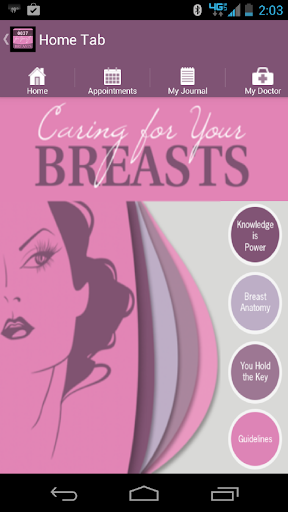 Caring for Your Breast
