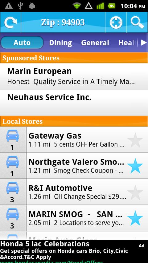 Local Coupons Aroundme - screenshot