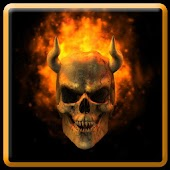 Burning Skull Theme