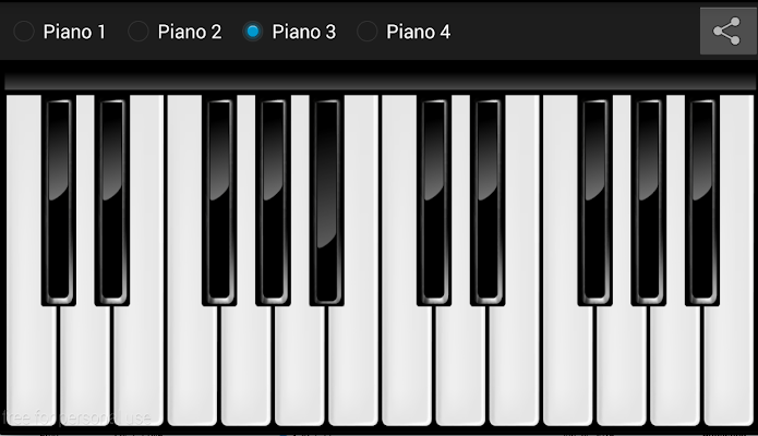 Realistic Piano Free - screenshot