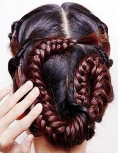 法國辮子:女性髮型