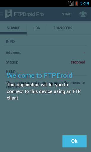 FTPDroid unlocker
