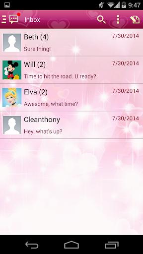 【免費通訊App】Handcent 6 Skin Valentine 2012-APP點子