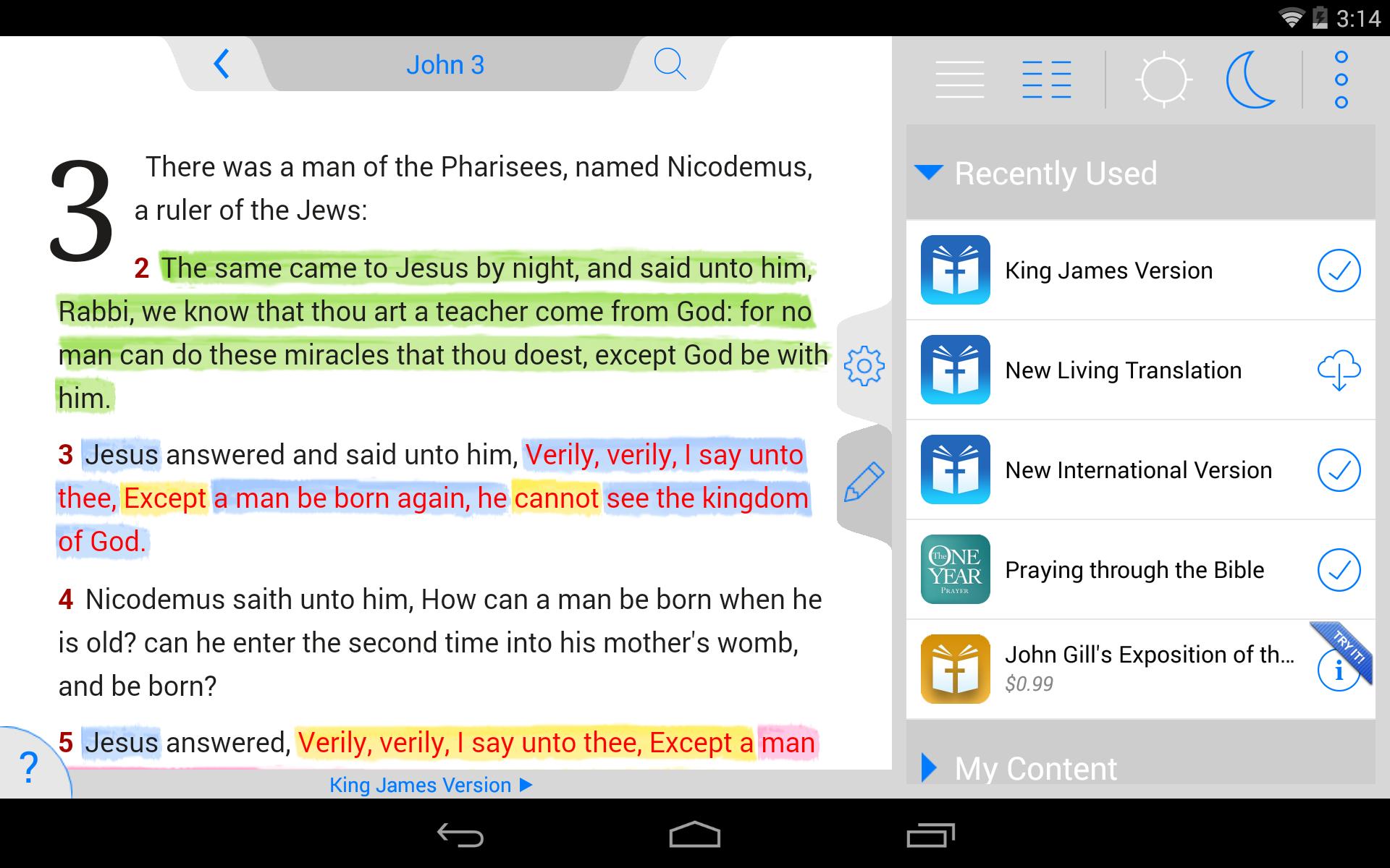 NLT Bible screenshot #18