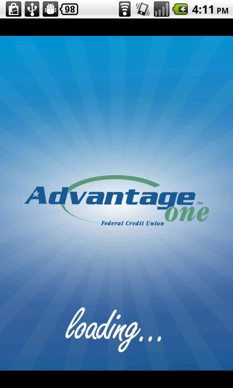Advantage One FCU - screenshot