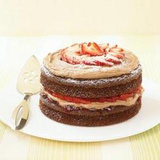 Double-Chocolate Strawberry Shortcake.