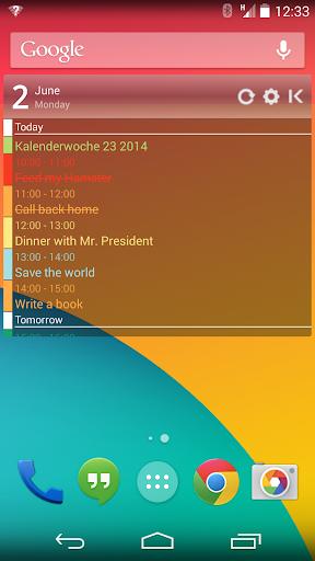 玩生產應用App|Clean Calendar Widget Pro免費|APP試玩