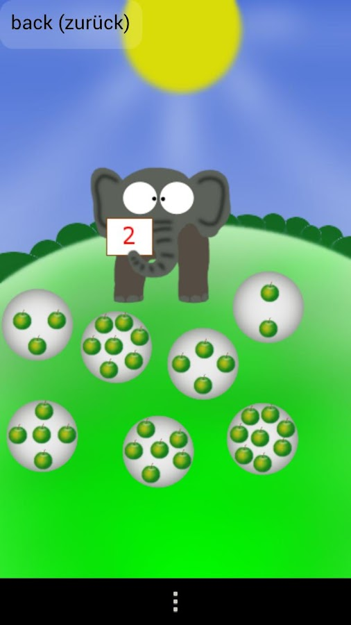 numbers and math for kids - screenshot