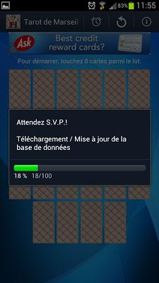 Daily Tarot of Marseille - screenshot