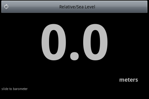 Altimeter Barometer - screenshot