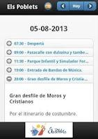 Screenshot of Els Poblets