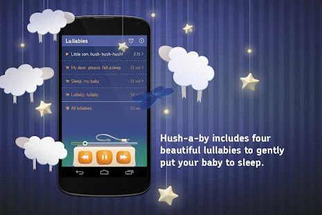 Lullabies songs for kids - screenshot thumbnail