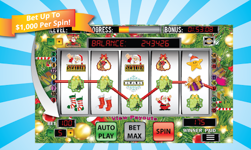Mega Christmas Slot Machine - screenshot thumbnail