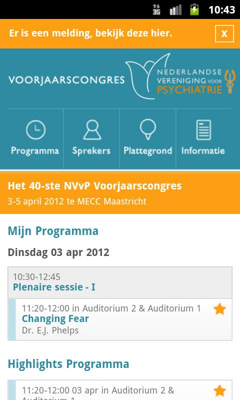NVvP Voorjaarscongres 2012- screenshot