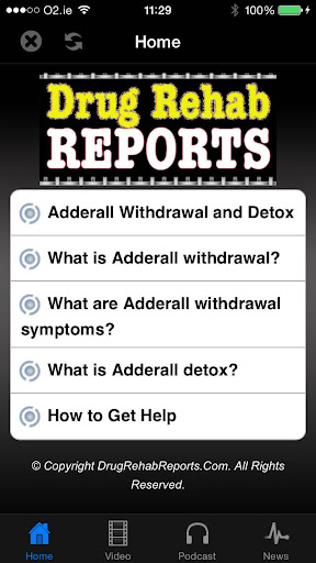 Adderall Withdrawal Detox