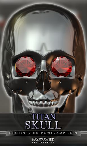 Poweramp 皮膚頭蓋骨タイタン