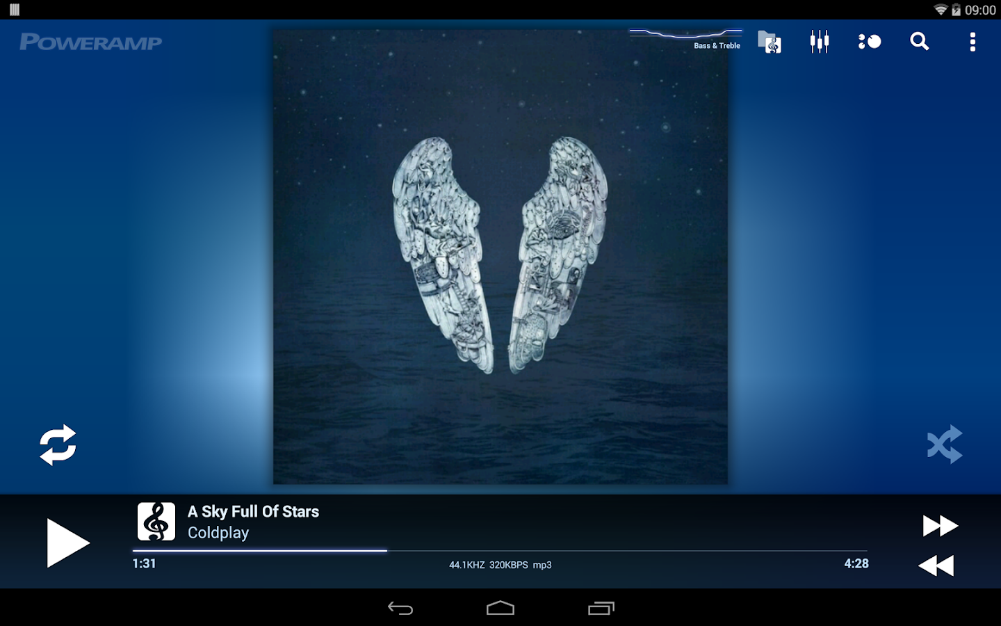 Poweramp Music Player (Full) [v2.0.10-build-565 Download For Android]
