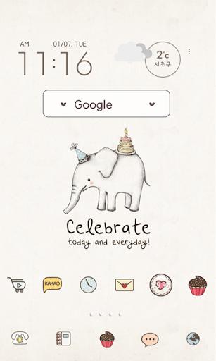 아기코끼리코코 celebrate 도돌런처 테마