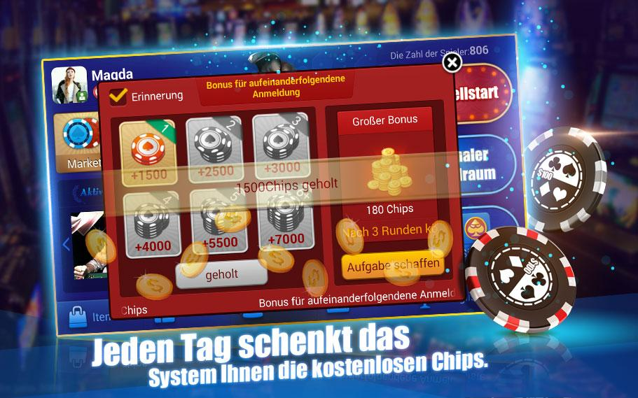 Deutsch Texas Hold'em - screenshot