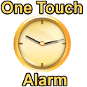 One Touch Alarm Clock logo
