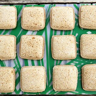 Homemade Uncrustables Sandwiches.