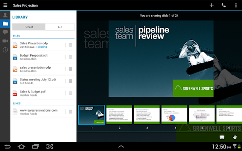 IBM Sametime Meetings - screenshot thumbnail