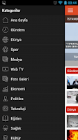 Screenshot of Samanyolu Haber