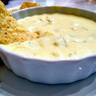 "White ""Gold"" Queso Dip"