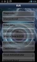Screenshot of EUS
