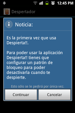 ALARMA FLASH