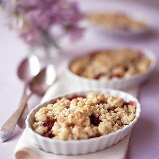 Mango and Raspberry Crisp.