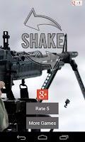 Screenshot of Machine Gun Sound Shake