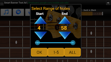 Screenshot of Bass Guitar Tutor Free