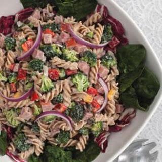 Broccoli, Ham & Pasta Salad.