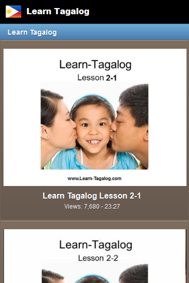 Learn to write tagalog