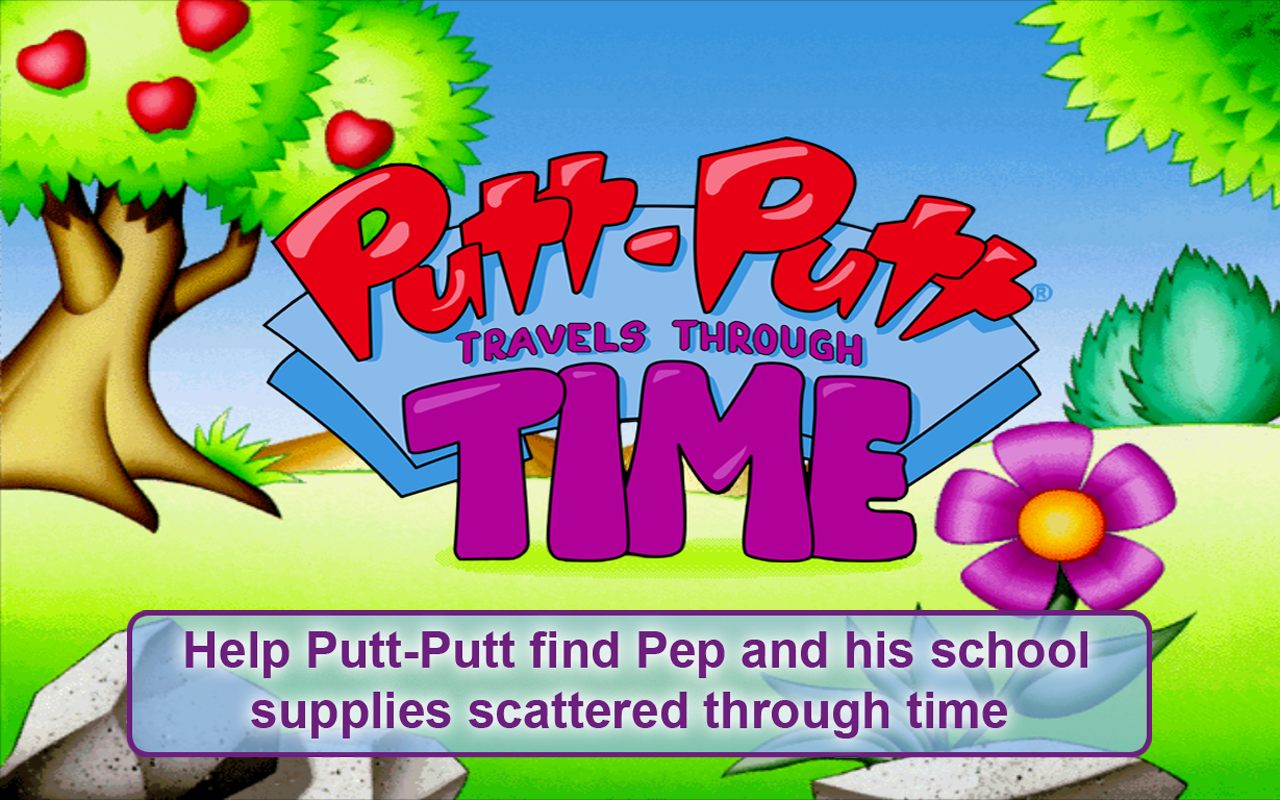 Putt-Putt® TravelsThroughTime- screenshot