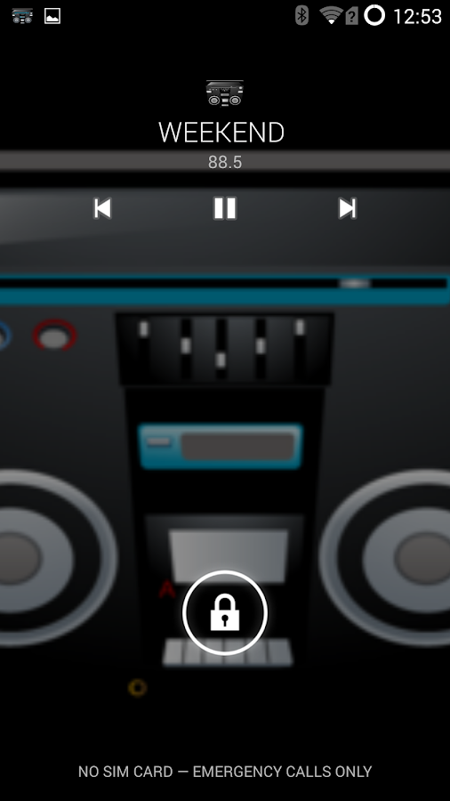 Spirit2: Real FM Radio 4 AOSP: captura de pantalla