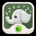 Sonido Animal en el Teclado GO icon