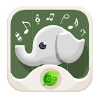 GO KEYBOARD ANIMAL SOUND icon