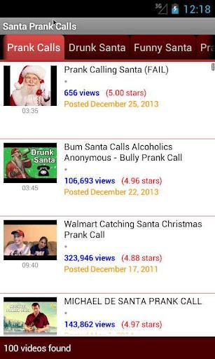 Santa Prank Calls