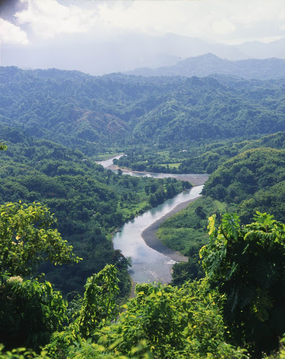 Blue-Mountains-Jamaica - The Blue Mountains, the longest mountain range in Jamaica, dominate the eastern third of the island.