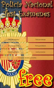Policia Nacional Test Free - screenshot thumbnail