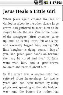 Children's Bible- screenshot thumbnail
