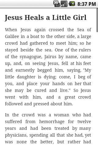 Children's Bible- screenshot