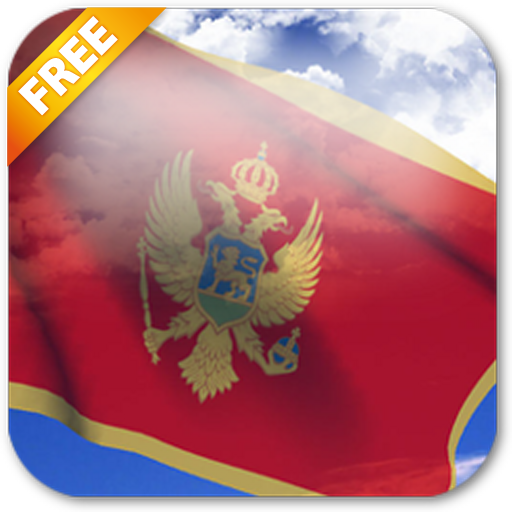 Android aplikacija 3D Montenegro Flag Live Wallpaper