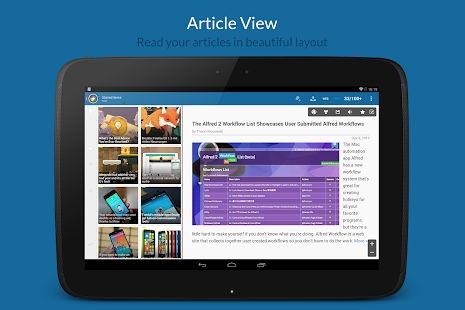 News+ | Google News RSS Reader- screenshot thumbnail
