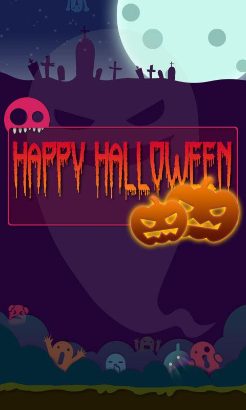 GO SMS Pro HappyHalloween ThEX - screenshot