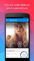 Screenshot of MiuMeet Chat Flirt Dating App